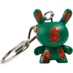 Figur Andy Warhol Dunny Dollar 1982 Keychain Kidrobot Designer Toys Geneva