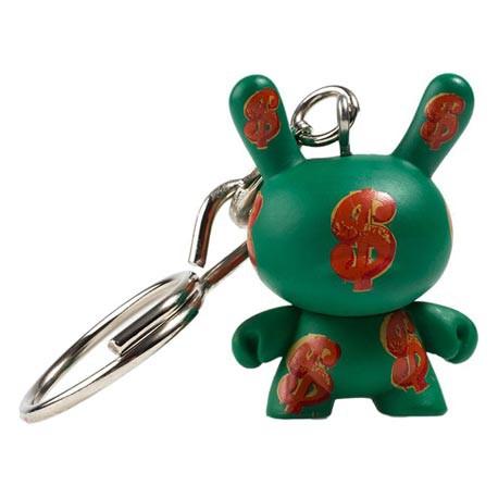 Figurine Dunny Dollar 1982 Porte-clés par la Fondation Andy Warhol Kidrobot Boutique Geneve Suisse