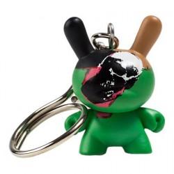 Figuren Dunny Skull 1976 Keychain von der Andy Warhol Fondation Kidrobot Designer Toys Genf