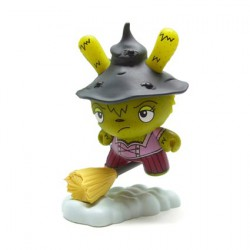 Figurine Dunny Scared Silly Which Witch is Which Chase par Jenn & Tony Bot Kidrobot Boutique Geneve Suisse