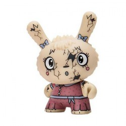 Figurine Dunny Scared Silly You Crack Me Up par Jenn & Tony Bot Kidrobot Boutique Geneve Suisse