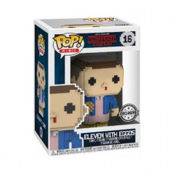 Figur Pop Stranger Things 8 Bit Eleven with Eggos Limited Edition Funko Geneva Store Switzerland