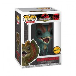 Pop Movies Jurassic Park Dilophosaurus Limited Chase Edition