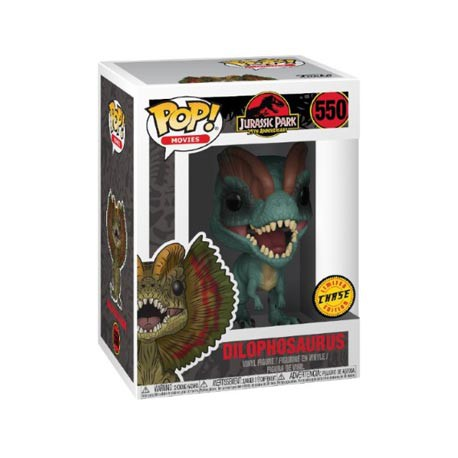 Figur Pop Movies Jurassic Park Dilophosaurus Limited Chase Edition Funko Geneva Store Switzerland