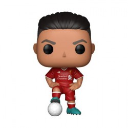 Figurine Pop Football Premier League Liverpool Roberto Firmino Funko Boutique Geneve Suisse