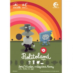 Figurine Rolitoland Safari set F par Rolito Toy2R Boutique Geneve Suisse