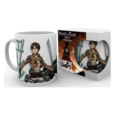 Figur Attack On Titan Season 2 Eren Duo Mug (1 pcs) Geneva Store Switzerland