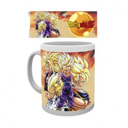 Figurine Tasse Dragon Ball Z Super Saiyans Hole in the Wall Boutique Geneve Suisse