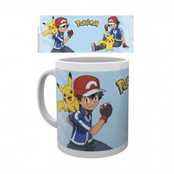 Pokemon Ash Mug