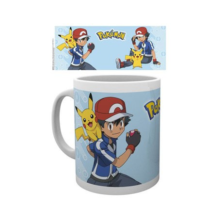 Figur Pokemon Ash Mug Hole in the Wall Geneva Store Switzerland