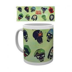 Figurine Tasse DC Comics Suicide Squad Skulls Green Boutique Geneve Suisse