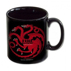 Game of Thrones House Targaryen Fire and Blood Mug