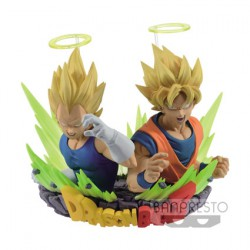 Figur Dragon Ball Z Vol.2 SS Goku & SS Vegeta Banpresto Geneva Store Switzerland