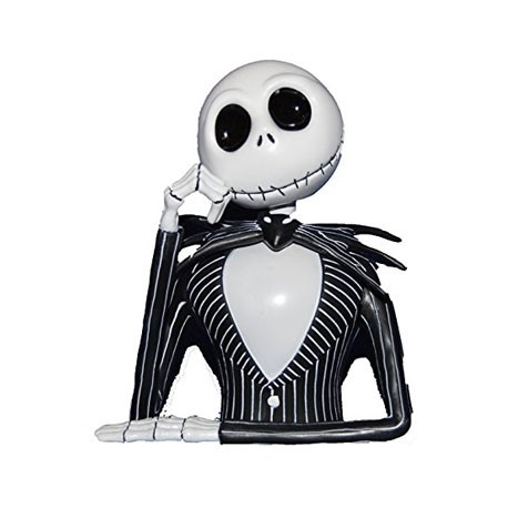 figur nightmare before christmas jack skellington bust bank geneva store switzerland - Christmas Jack Skellington