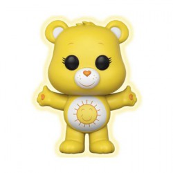 Figuren Pop Cartoons Care Bears Funshine Bear Limitierte Chase Auflage Phosphoreszierend Funko Figuren Pop! Genf