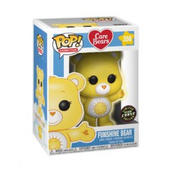 Figur Pop Cartoons Care Bears Funshine Bear Limited Chase Edition Glow in the Dark Funko Geneva Store Switzerland