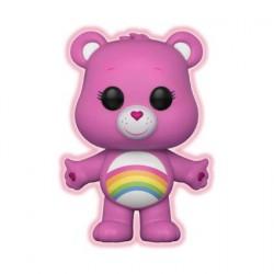Figurine Pop Cartoons Care Bears Cheer Bear Edition Limitée Chase Phosphorescent Funko Boutique Geneve Suisse
