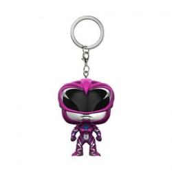 Figurine Pocket Pop Porte Clé Power Rangers Movie Pink Ranger Funko Figurines Pop! Geneve