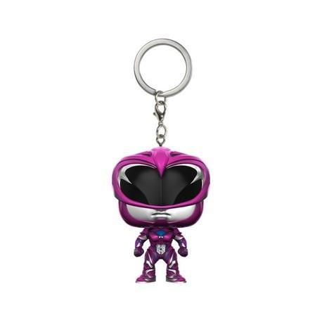 Figurine Pocket Pop Porte Clé Power Rangers Movie Pink Ranger Funko Boutique Geneve Suisse