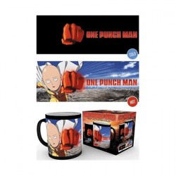 Figur One Punch Man Saitama Heat Change Mug Hole in the Wall Geneva Store Switzerland