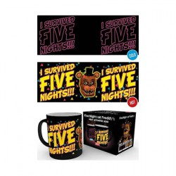Figurine Tasse Five Night At Freddy's Thermosensible Boutique Geneve Suisse