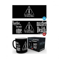 Figurine Tasse Thermosensible Harry Potter Deathly Hallows Hole in the Wall Boutique Geneve Suisse