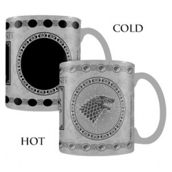 Figuren Tasse Game of Thrones Stark Heat Change (1 Stk) Hole in the Wall Genf Shop Schweiz