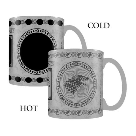 Figurine Tasse Thermosensible Game of Thrones Stark (1 pcs) Hole in the Wall Boutique Geneve Suisse
