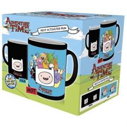 Figurine Tasse Adventure Time Thermosensible (1 pcs) Boutique Geneve Suisse