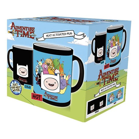 Figur Adventure Time Heat Change Mug (1 pcs) Hole in the Wall Geneva Store Switzerland