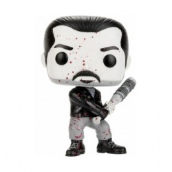 Figurine Pop The Walking Dead Negan Black and White Edition Limitée Funko Boutique Geneve Suisse