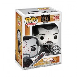 Figurine Pop The Walking Dead Negan Black and White Edition Limitée Funko Boutique Geneve Suisse