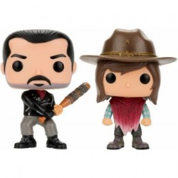 Figurine Pop The Walking Dead Negan and Carl Edition Limitée Funko Arrivages Geneve