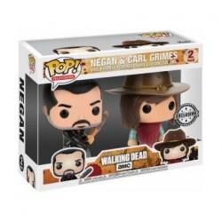 Figurine Pop The Walking Dead Negan et Carl Edition Limitée Funko Boutique Geneve Suisse
