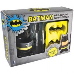 Figurine DC Comics Batman Coquetier, Cuillere et Coupe-pain Boutique Geneve Suisse