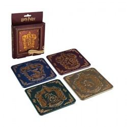 Figur Harry Potter Hogwarts Crest Coasters Geneva Store Switzerland