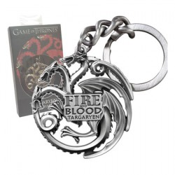 Game Of Thrones Targaryen Keychain