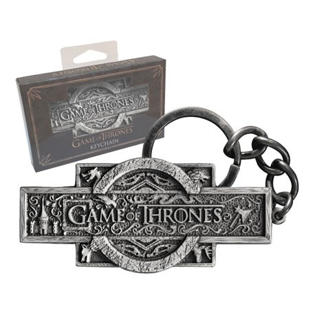 Figurine Porte-clés Game Of Thrones Opening Sequence Logo Boutique Geneve Suisse