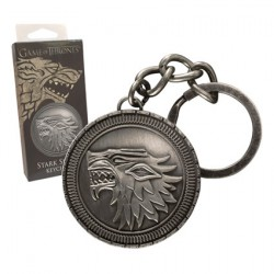 Game Of Thrones Stark Shield Keychain
