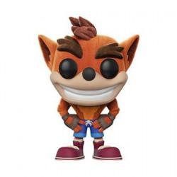 Figurine Pop Games Flocked Crash Bandicoot Edition Limitée Funko Boutique Geneve Suisse