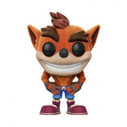 Figurine Pop Games Flocked Crash Bandicoot Edition Limitée Funko Figurines Pop! Geneve