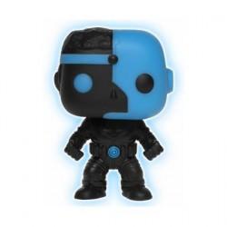 Figurine Pop DC Justice League Cyborg Silhouette Phosphorescent Edition Limitée Funko Boutique Geneve Suisse