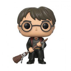 Figur Pop Harry Potter Harry with Firebolt and Feather Limited Edition Funko Geneva Store Switzerland