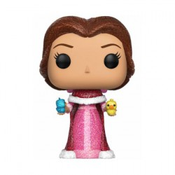 Figurine Pop Disney Beauty and The Beast Glitter Belle with Birds Edition Limitée Funko Boutique Geneve Suisse