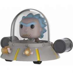 Figurine Pop Rides Rick and Morty Space Cruiser Edition Limitée Funko Boutique Geneve Suisse