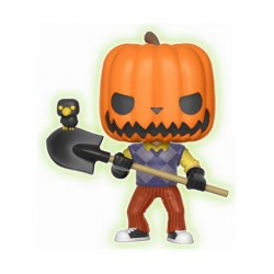 Figurine Pop Phosphorescent Hello Neighbor Pumpkin Head Edition Limitée Funko Boutique Geneve Suisse