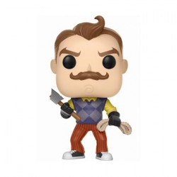 Figurine Pop Games Hello Neighbor Neighbor with Axe and Rope Edition Limitée Funko Boutique Geneve Suisse