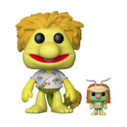 Pop Fraggle Rock Red with Doozer Flocked Edition Limitée