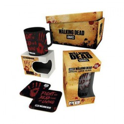 Figur The Walking Dead Bloody Hand Gift Box Hole in the Wall Geneva Store Switzerland