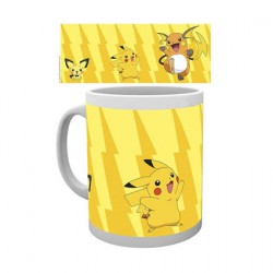 Figur Pokemon Pikachu Evolution Mug Hole in the Wall Geneva Store Switzerland